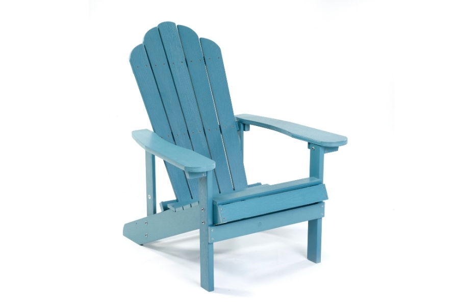 Recycled plastic outdoor bench